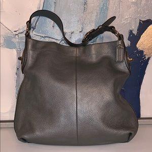 Pewter Coach purse